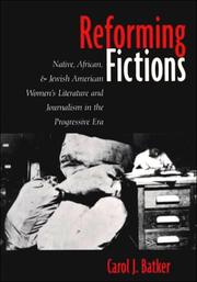 Cover of: Reforming fictions