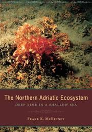 Cover of: The Northern Adriatic Ecosystem | Frank K. McKinney