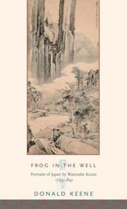 Cover of: Frog in the well | Donald Keene