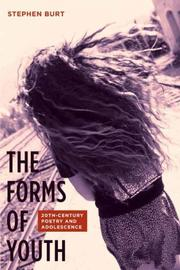 The Forms of Youth by Stephen Burt