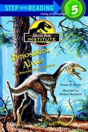 Cover of: Dinosaurs Alive! Jurassic Park(TM) Institute