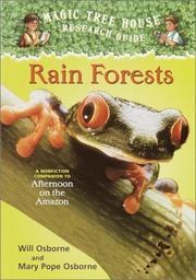 Cover of: Rainforests (Magic Tree House Rsrch Gdes(R)) | Will And Ma Osborne