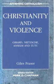 Cover of: Christianity and Violence (Affirming Catholicism)