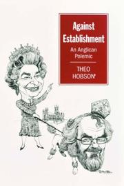 Cover of: Against establishment | Theo Hobson