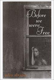 Cover of: Before we were free