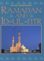 Cover of: Ramadan and Id-ul Fitr (World of Festivals) | Rosalind Kerven