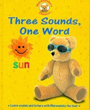 Cover of: Three Sounds, One Word (Marmaduke's Phonics)
