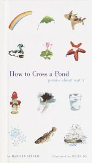Cover of: How to cross a pond: poems about water
