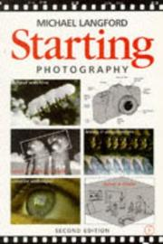 Cover of: Starting photography