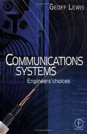Cover of: Communications Systems | Geoff Lewis