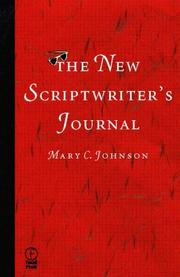 Cover of: The scriptwriter's journal