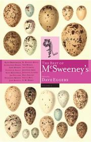Cover of: The Best of McSweeney's