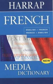 Cover of: Harrap French Media Dictionary