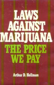 Cover of: Laws against marijuana