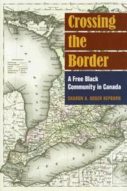 Cover of: Crossing the Border | Sharon Hepburn