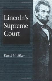 Cover of: Lincoln's Supreme Court