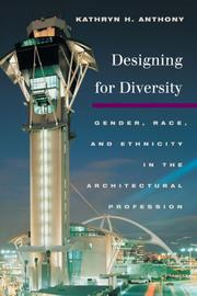 Cover of: Designing for Diversity | Kathryn H. Anthony