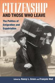 Cover of: Citizenship and Those Who Leave |