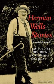 Cover of: Herman Wells Stories (A Midland Book) |
