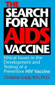 The search for an AIDS vaccine by Christine Grady