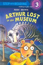 Cover of: Arthur lost in the museum
