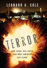 Cover of: Terror: How Israel Has Coped and What America Can Learn