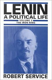 Cover of: Lenin: A Political Life