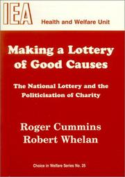 Cover of: Making a lottery of good causes
