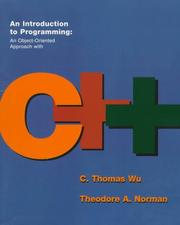 Cover of: An Introduction to Programming | C. Thomas Wu