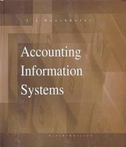 Accounting information systems by James L. Boockholdt