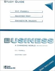 Cover of: Business: A Changing World  | O. C. Ferrell