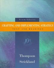 Cover of: Crafting and Implementing Strategy | Arthur A., Jr. Thompson