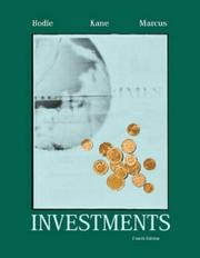 Cover of: Investments | Zvi Bodie