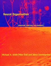Cover of: Neural organization