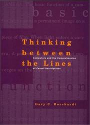 Cover of: Thinking between the lines | Gary C. Borchardt