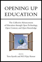 Cover of: Opening Up Education by