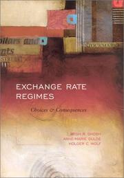 Cover of: Exchange rate regimes