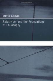 Cover of: Relativism and the Foundations of Philosophy (Bradford Books)