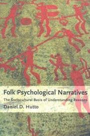Cover of: Folk psychological narratives