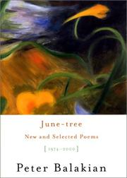 June-tree by Peter Balakian