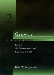 Cover of: Growth | Dale Weldeau Jorgenson