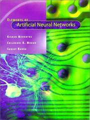 Cover of: Elements of artificial neural networks