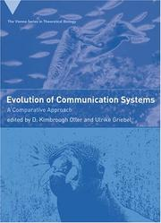 Cover of: Evolution of communication systems |