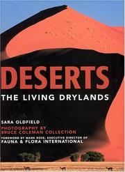 Cover of: Deserts | Sara Oldfield
