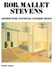 Cover of: Rob Mallet-Stevens | Jean-François Pinchon