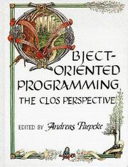 Cover of: Object-oriented programming |