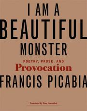 Cover of: I Am a Beautiful Monster
