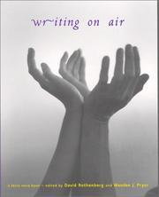 Cover of: Writing on air