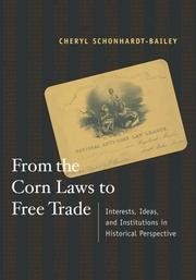 Cover of: From the Corn Laws to Free Trade