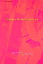 Cover of: Welcome to the Hotel architecture